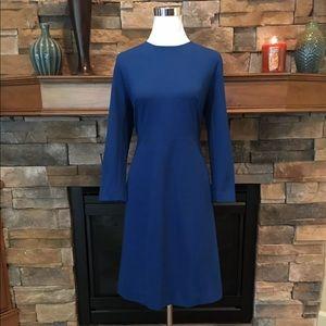 J. Crew below knee ponte knit dress 12 NWT $108